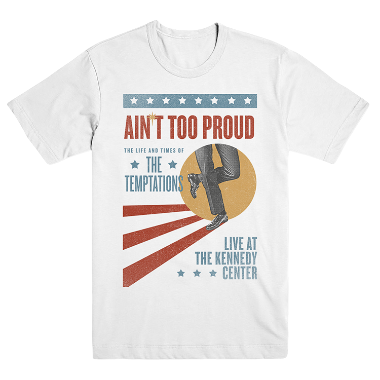 Ain't Too Proud Vintage DC Poster Tee
