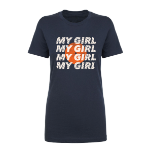 Navy My Girl Tee