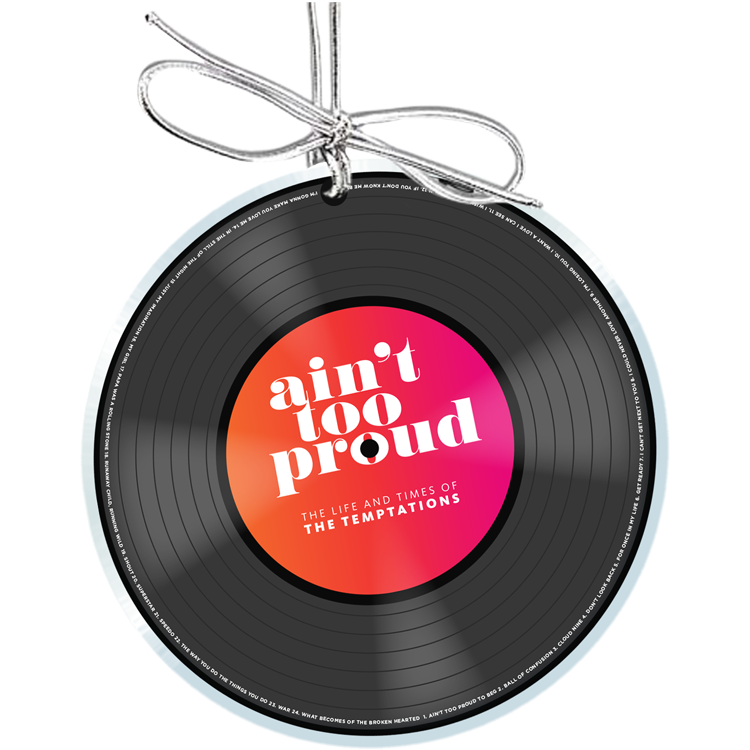 Ain't Too Proud Record Ornament